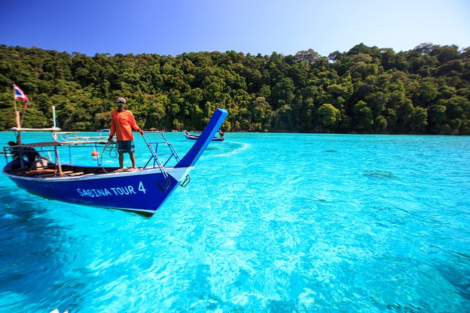 Snorkelling tour to Surin Island from Khao Lak (by speed boat)