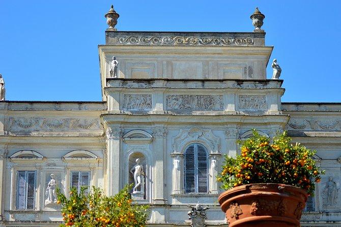 Photo book in the magnificent Villa Doria Pamphilj
