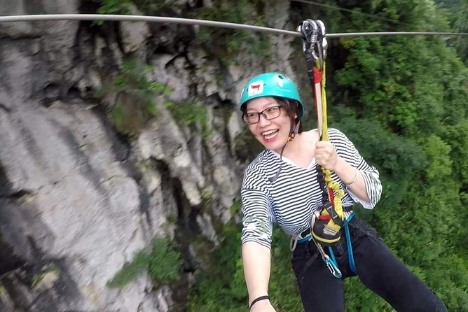 Yangshuo Via Ferrata with Round way private transfer from Guilin hotel