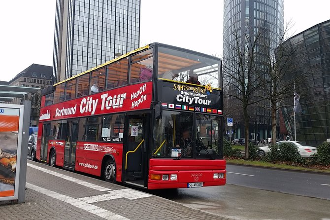 City Tour Dortmund in a double-decker bus