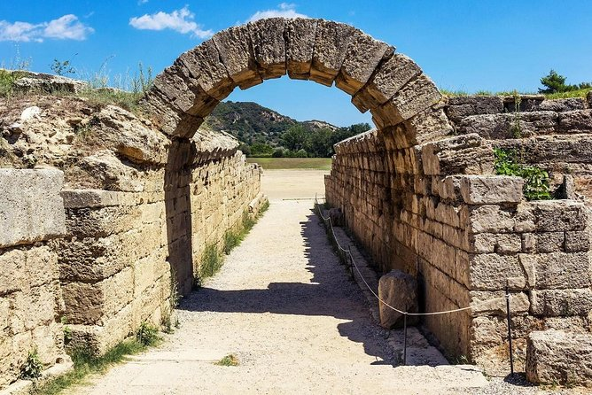 Explore ancient Olympia Full day Private tour with Wine and Olive Oil Tasting