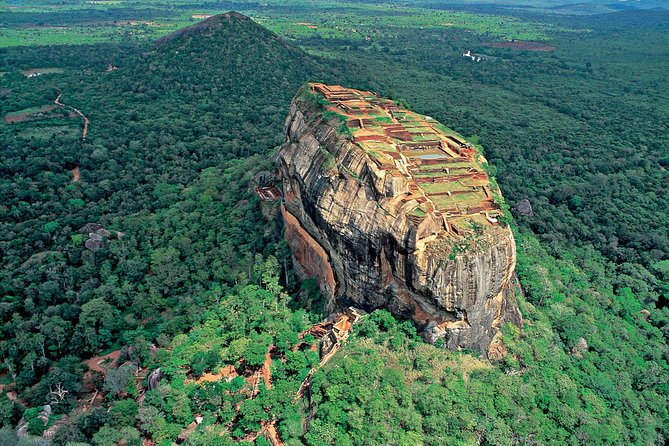 Sigiriya Rock, Dambulla and Minneriya National Park