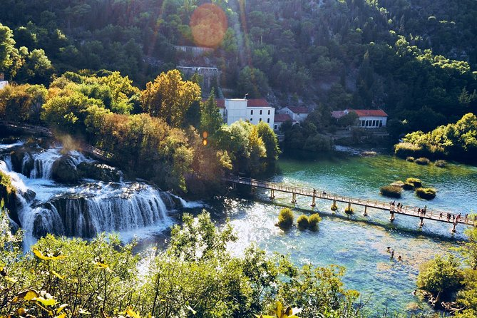 KRKA WATERFALLS & MEDIEVAL SIBENIK - From Zadar, Full-Day, Unesco site, Private 4 or 8 pax