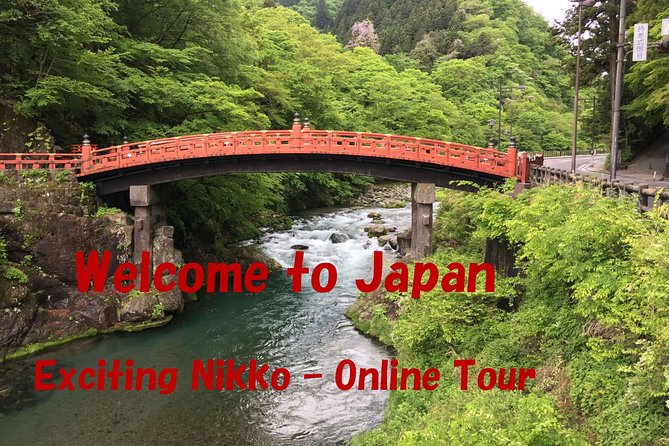 Exciting Nikko - Online Tour