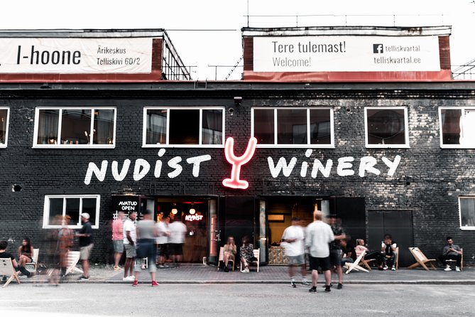 Nudist Winery Wine Tasting and Winery tour in Tallinn