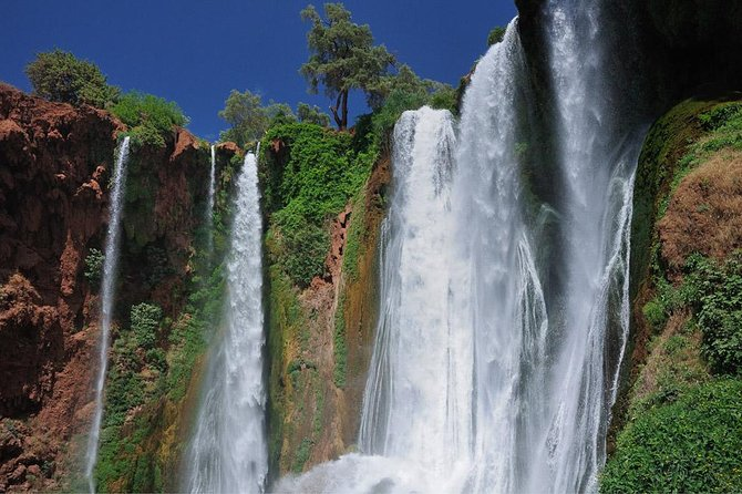 Ouzoud waterfalls day trip excursion from Marrakech
