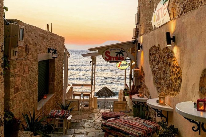 Matala & South Crete Escape with Local Food & Wine - Private Tour from Chania