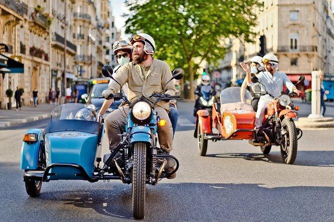 Excursão Vintage de Meio Dia em uma Motocicleta Sidecar (2 Horas)