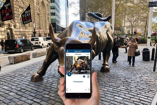 Zelfgeleide wandeltocht door Wall Street