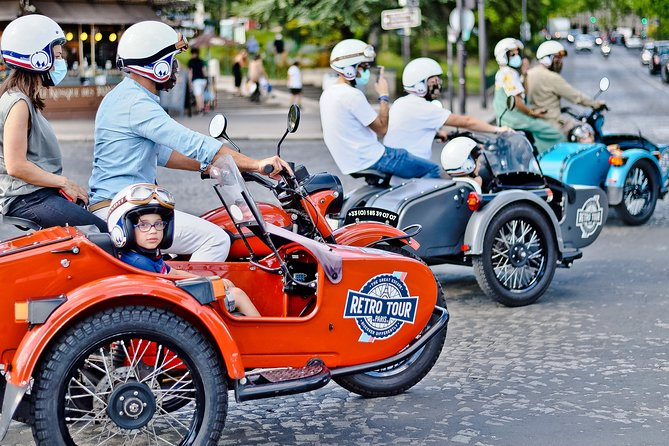 Full Day Tour on Vintage Sidecar: Best Visit of Paris & Versailles
