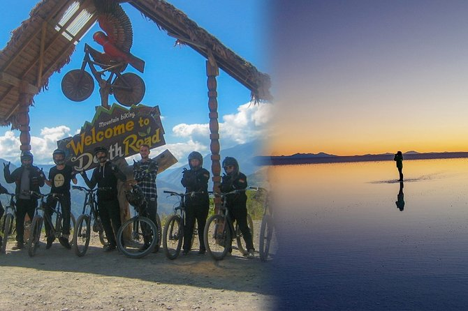 Uyuni Salt Flat + Death Road / 5 Day Tour from La Paz City