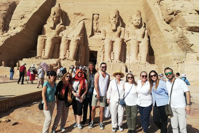 Full Day Tour to Abu Simbel Temples From Aswan- Shared Tour