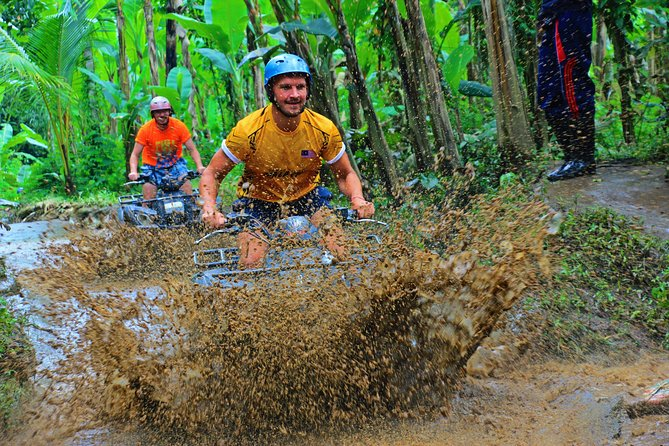 Balaji ATV Quad Bike Ride Single & Ayung River Rafting Ubud