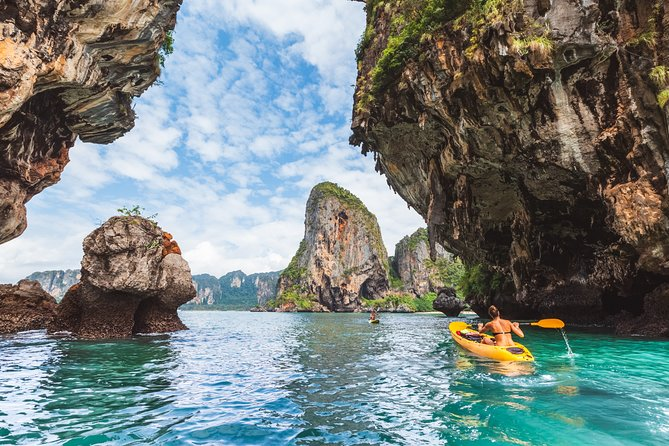 Snorkeling Tour to 5 Islands in Krabi and Talu Cave by Longtail Boat