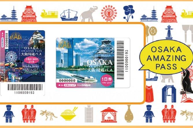 Osaka Amazing Pass (1 or 2 Days)
