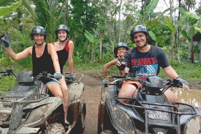 Balaji ATV Ride Tandem & Ayung River Rafting Ubud