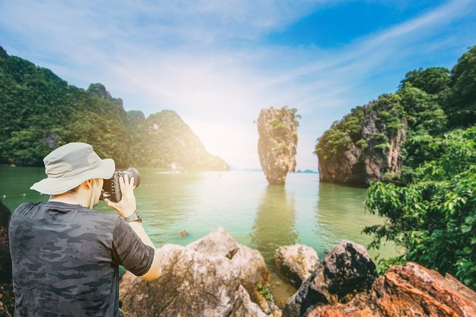From Krabi: Speedboat tour to James Bond - Hong Islands and Koh Yao Noi