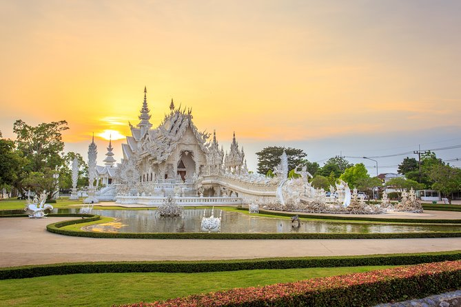 From Chiang Mai: Day Trip to Chiang Rai with Golden Triangle & Boat Ride
