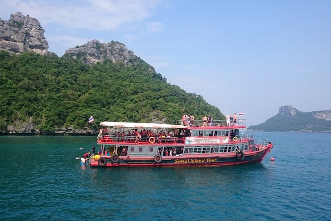 Samui Island Tour to Angthong National Marine Park by Big Boat