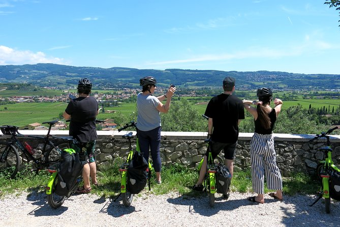 Verona and the countryside, by e-bike
