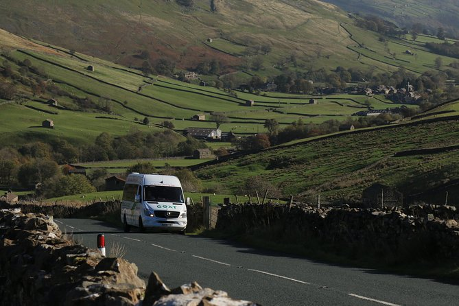 Private Hire: Yorkshire Dales from Chester in 16 Seater Minibus
