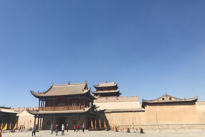 Private Day Tour to Jiayuguan from Dunhuang by Round-way Bullet Train
