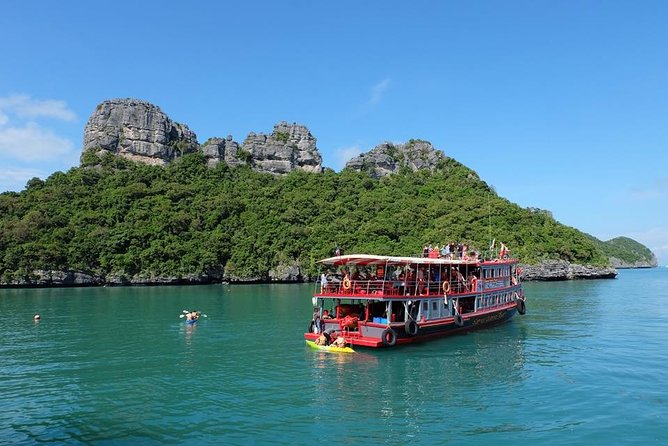 Samui Island Tour to Angthong Marine Park by Big Boat (Snorkeling, Kayaking)