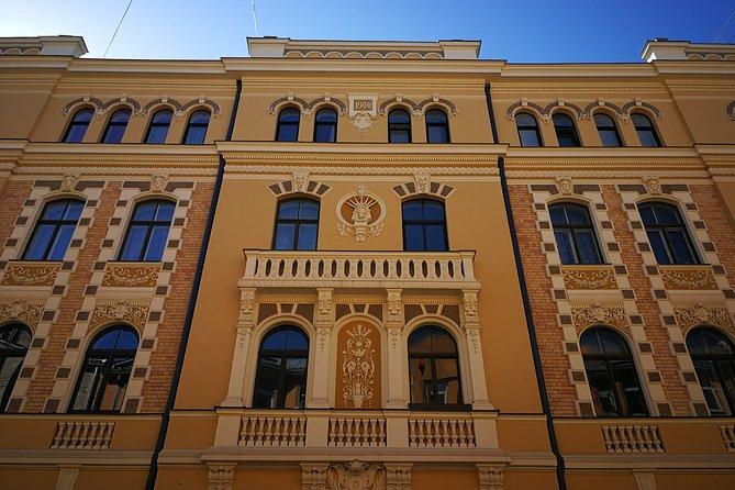 Art Nouveau area in Riga.