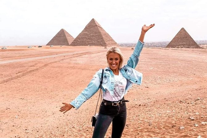 Giza Pyramids, Memphis City, Dahshur And Sakkara Pyramids, El-Moez Street And Dinner At Cairo Tower