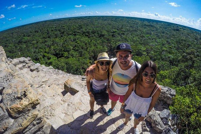 Tulum Coba Cenote and Playa de Carmen City Private Tour
