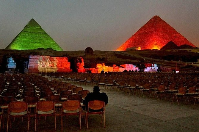 Sound and Light Show at the Pyramids With Hotel Transfer