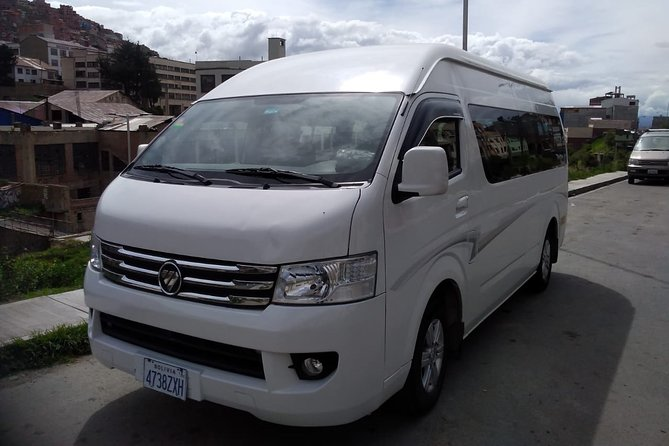 Private Transfer from Airport to your Hotel in La Paz City
