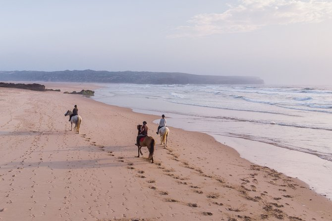 Bordeira Beach - Horse Riding Tour Sunset or Sunrise