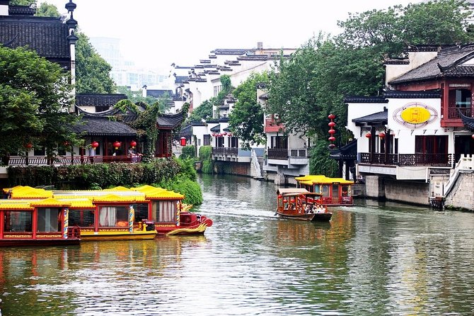 Nanjing Self-Guided Day Tour with Private Car and Driver Service