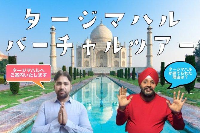 Virtual TajMahal Tour [Online Experience]