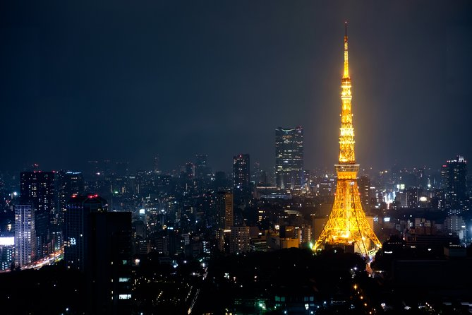 Tokyo Tower Observatory Entry Ticket