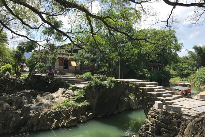 Private Day Tour Huangyao Old Town in Hezhou from Guangzhou by Round-way Train