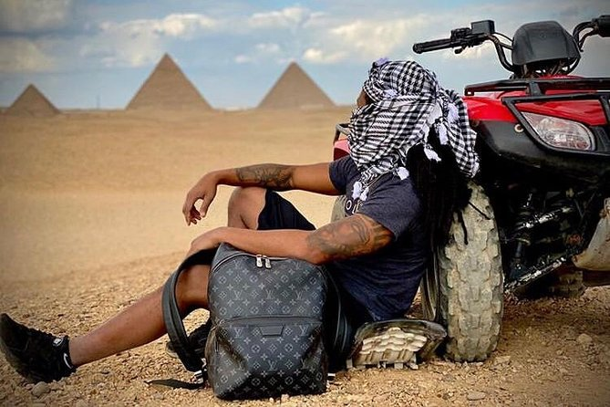 Private Quad Bike Desert Safari Experience Around The Pyramids