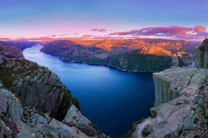 Experience the magnificent Lysefjord, Pulpit Rock. Join-in tour from Stavanger