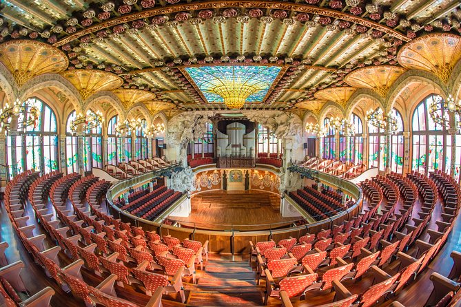 Skip the Line: Palau de la Música Catalana Guided Tour
