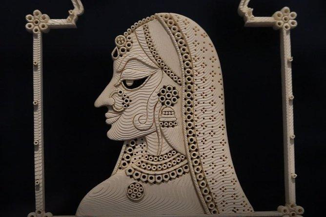 Private Samudari Jhaagh Sea Foam Carving Workshop in Udaipur