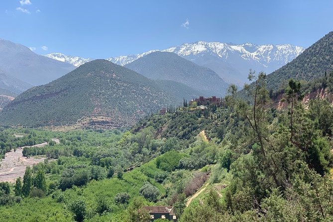From Marrakesh: Ourika Valley & Atlas Mountains Day Tour including Lunch