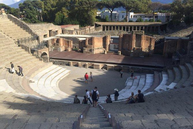 Tour at ancient city of Pompeii