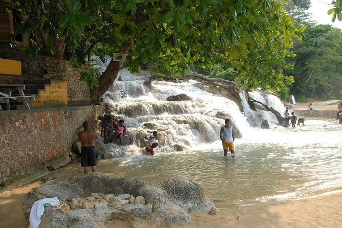 Dunns River Falls and Beach Break from Grand Palladium