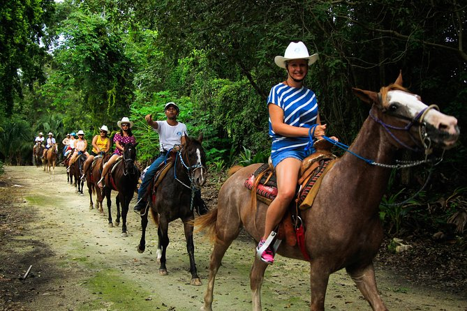 Wonderful Jungle Experience with Horse Riding, ATV, Ziplines and Cenote