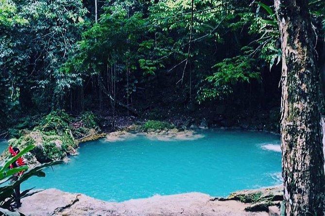 Blue Hole and Martha Brae Tour from Ocho Rios