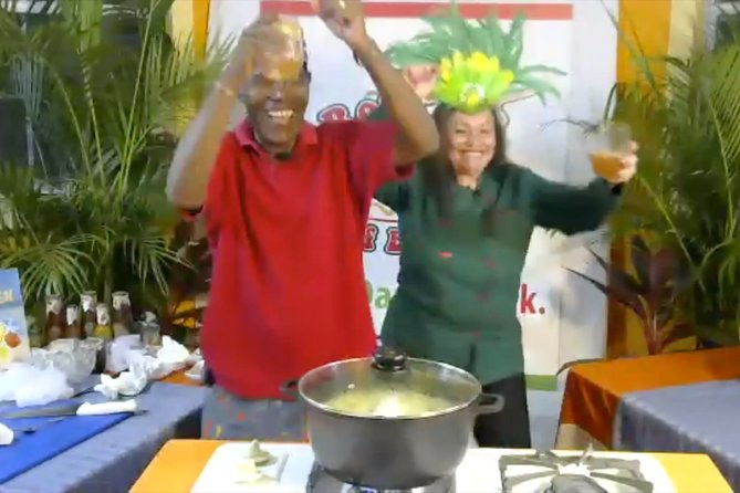 BARBADOS - Online Rum Punch & Street Food Cooking Party With A Pirate