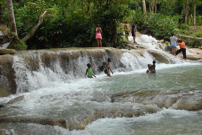 Falmouth Blue Hole and Dunns River Excursions