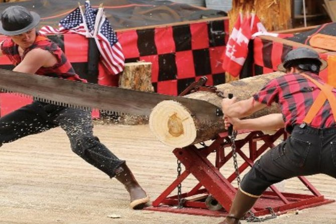 Shore Excursion Ketchikan: Lumberjack Show & Popular Historic Trolley