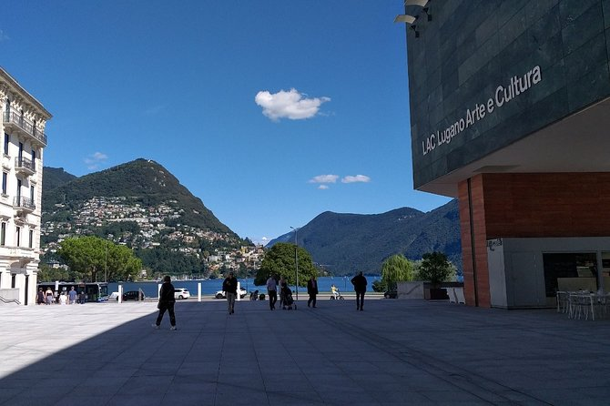 Lugano and its history private walking tour